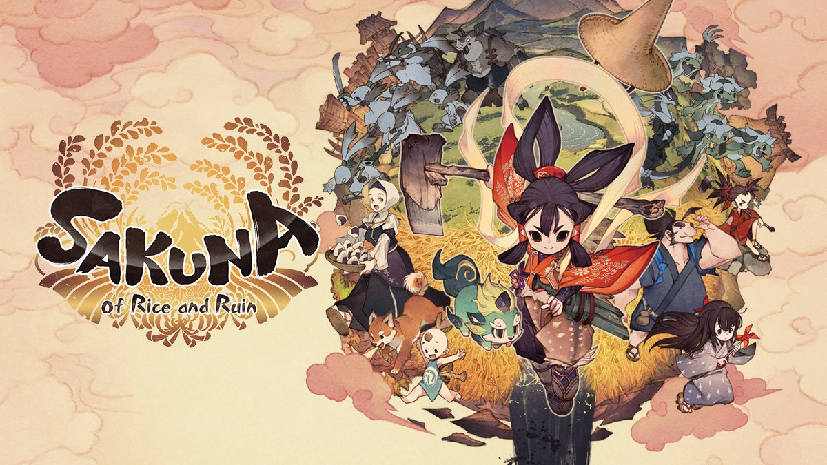Sakuna: Of Rice and Ruin Cover