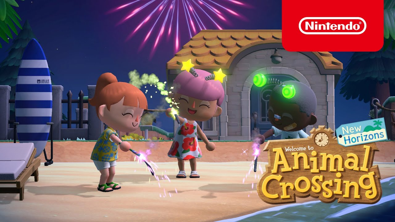 Animal Crossing: New Horizons aggiornamento estivo 2