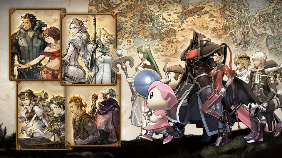 Super Smash Bros. Ultimate evento Octopath Traveler