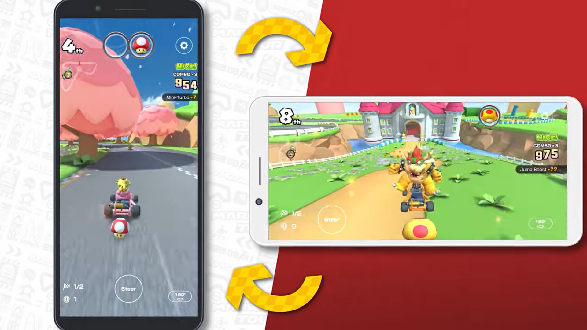Mario Kart Tour modalità panoramica