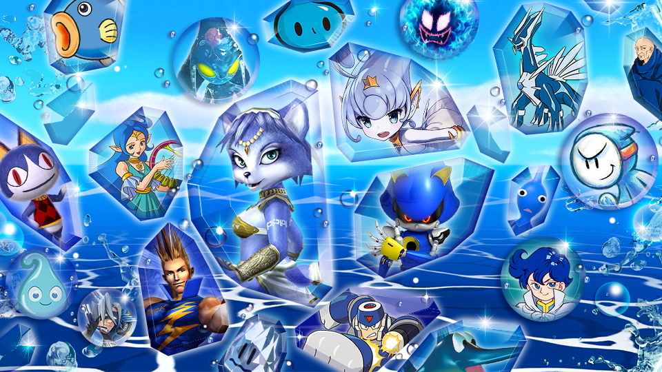 Super Smash Bros. Ultimate evento blu