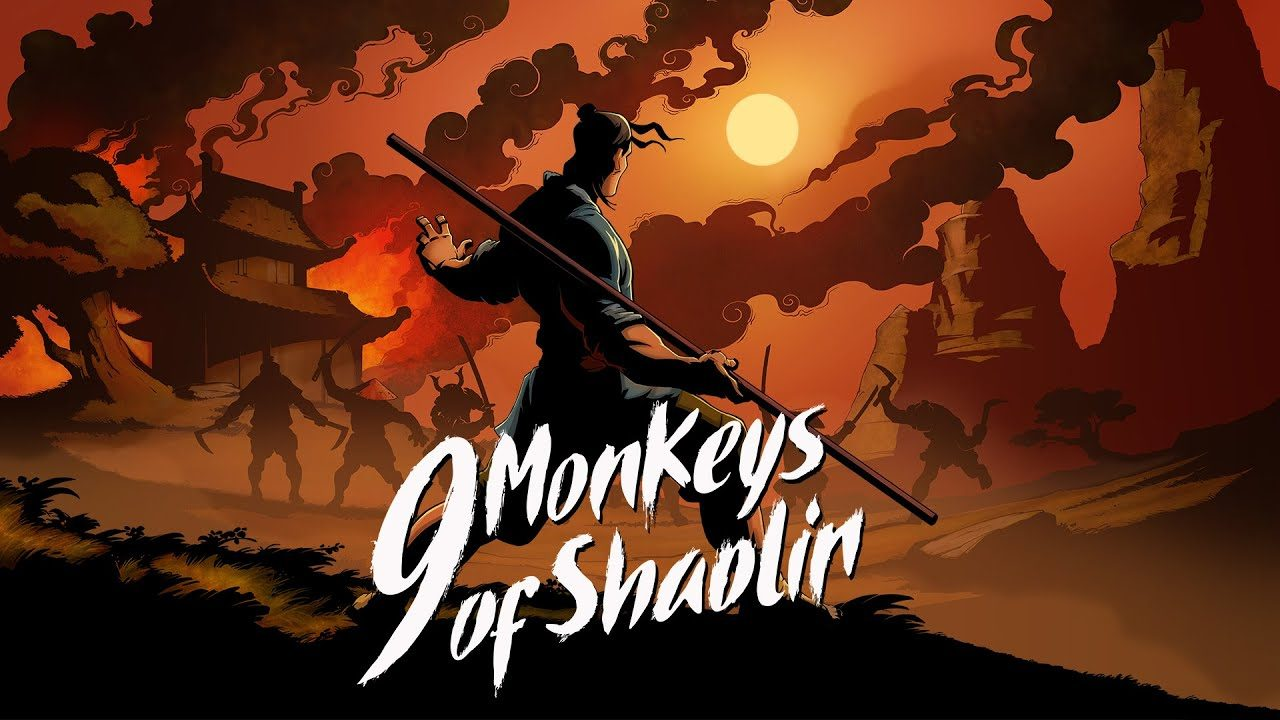 9 Monkeys of Shaolin locandina