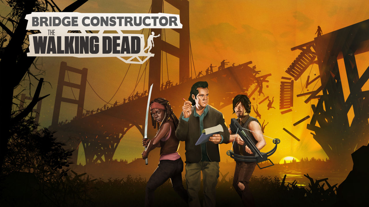 Bridge Constructor: The Walking Dead Cover