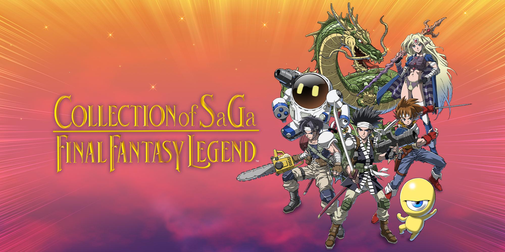 Collection of SaGa Final Fantasy Legend locandina