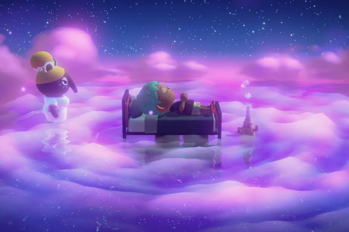 Animal Crossing: New Horizons sogno