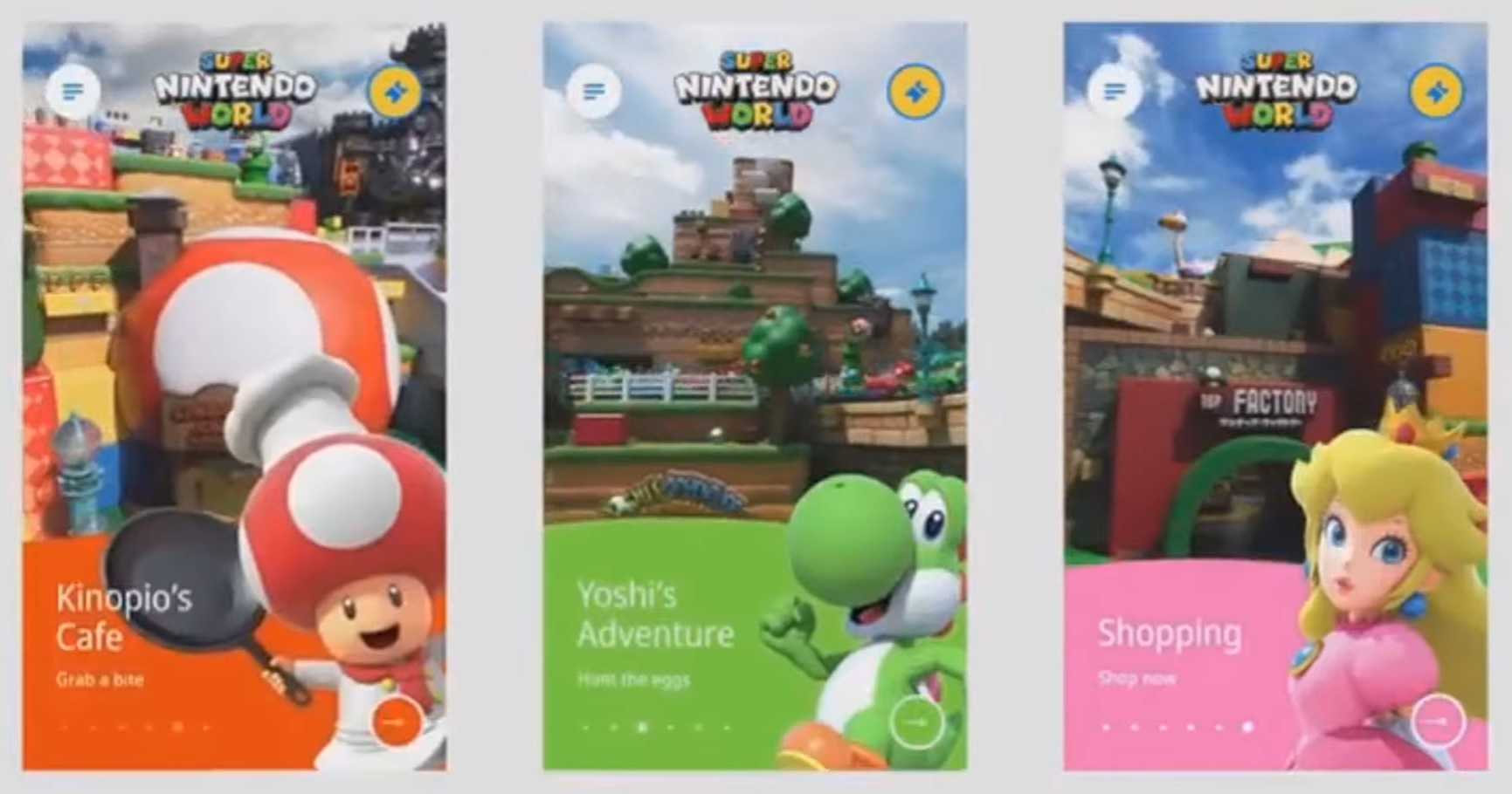 Super Nintendo World attrazioni2