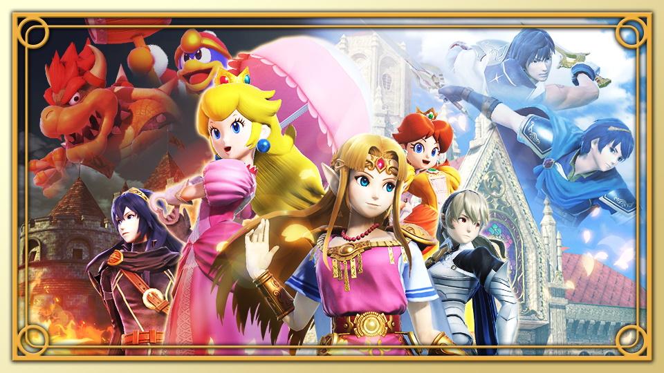 Super Smash Bros. Ultimate torneo corona