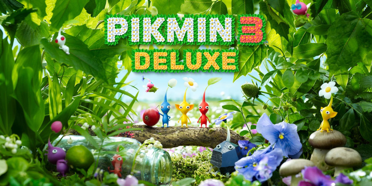 Pikmin 3 Deluxe Cover