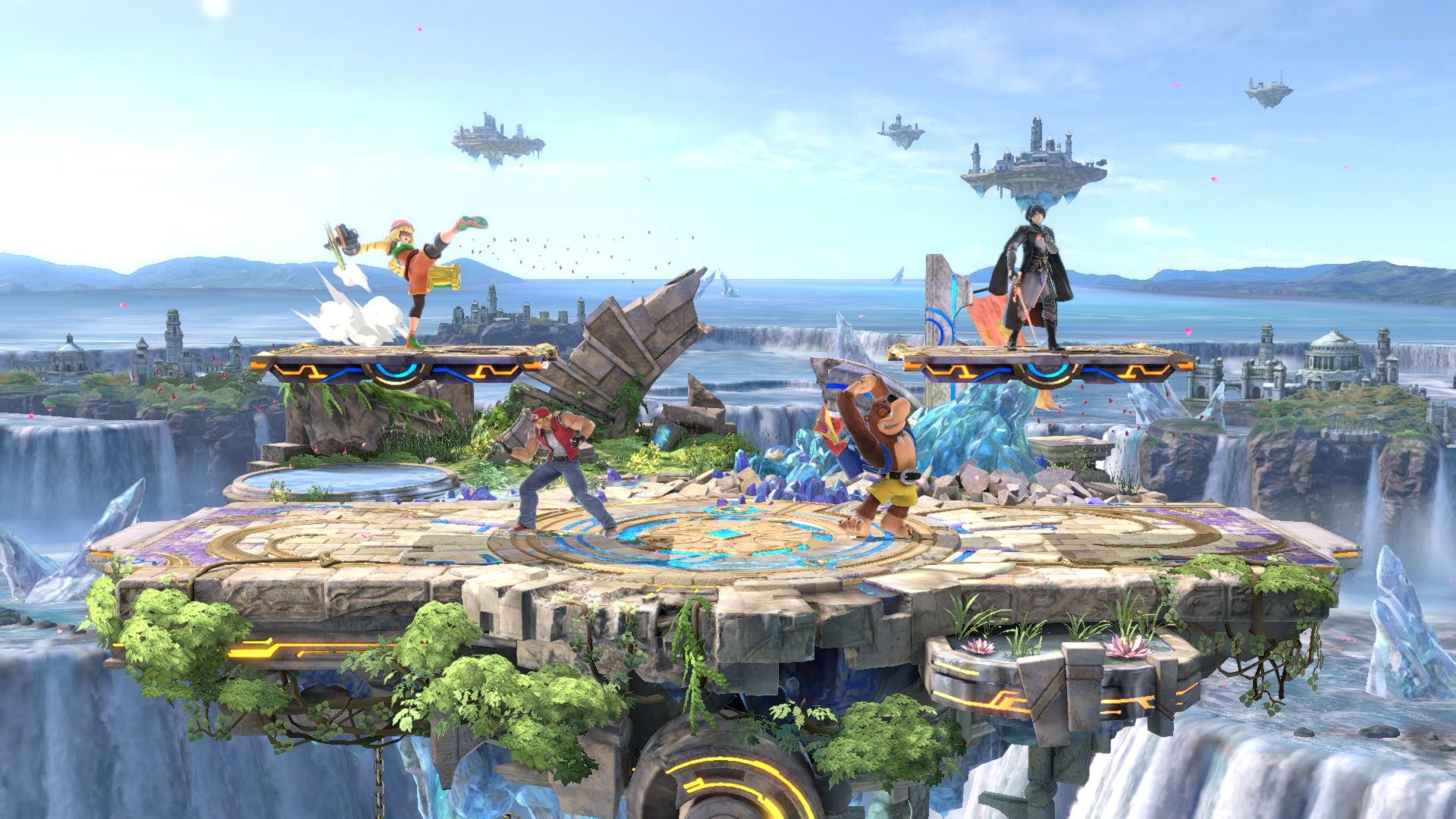 Super Smash Bros. Ultimate Le Rovine XS Masahiro Sakurai