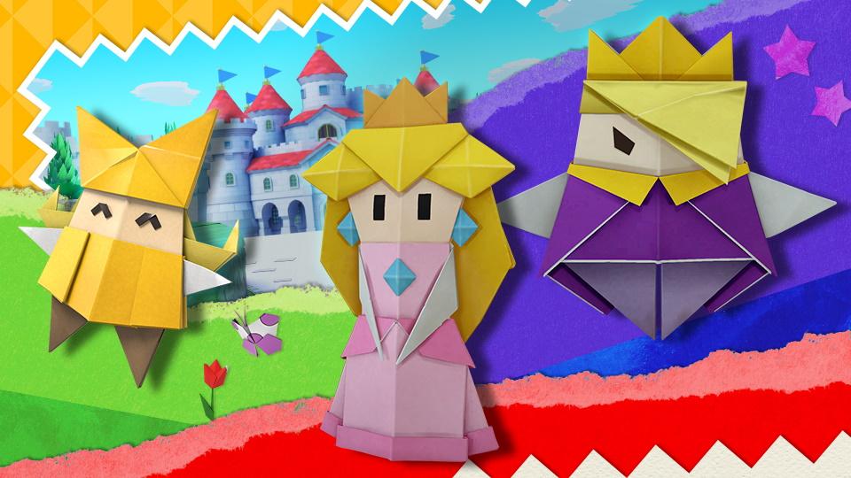 Super Smash Bros. Ultimate evento Paper Mario: The Origami King