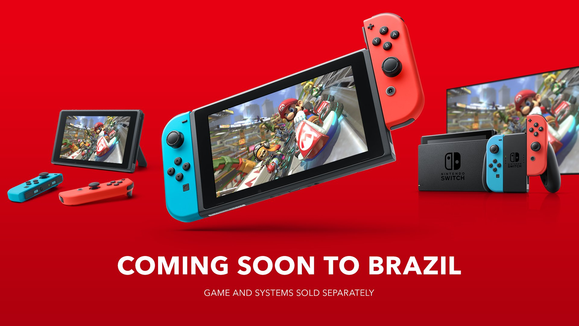 Nintendo Switch Brasile