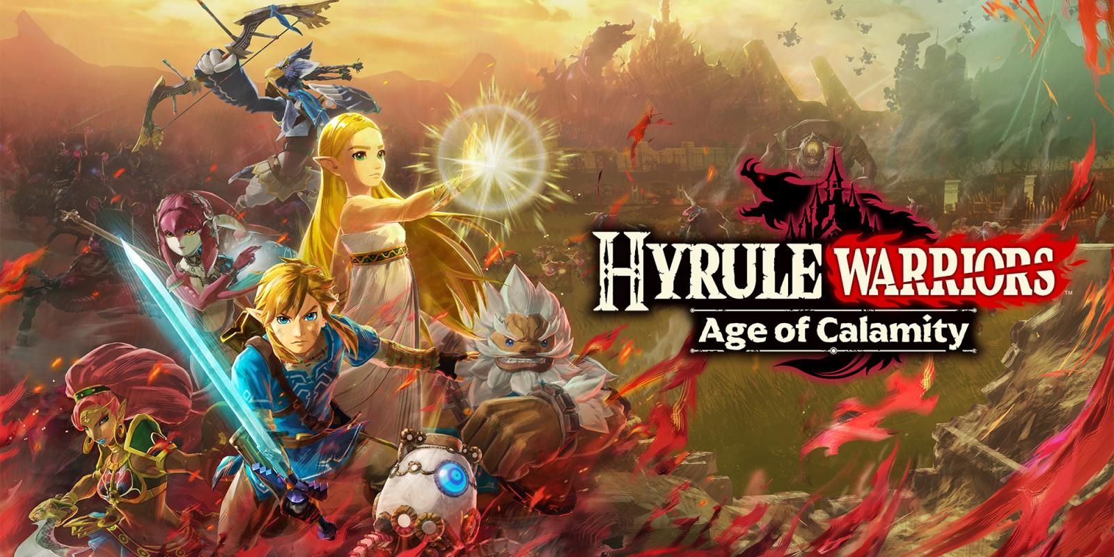 Hyrule Warriors: L'era della calamità locandina