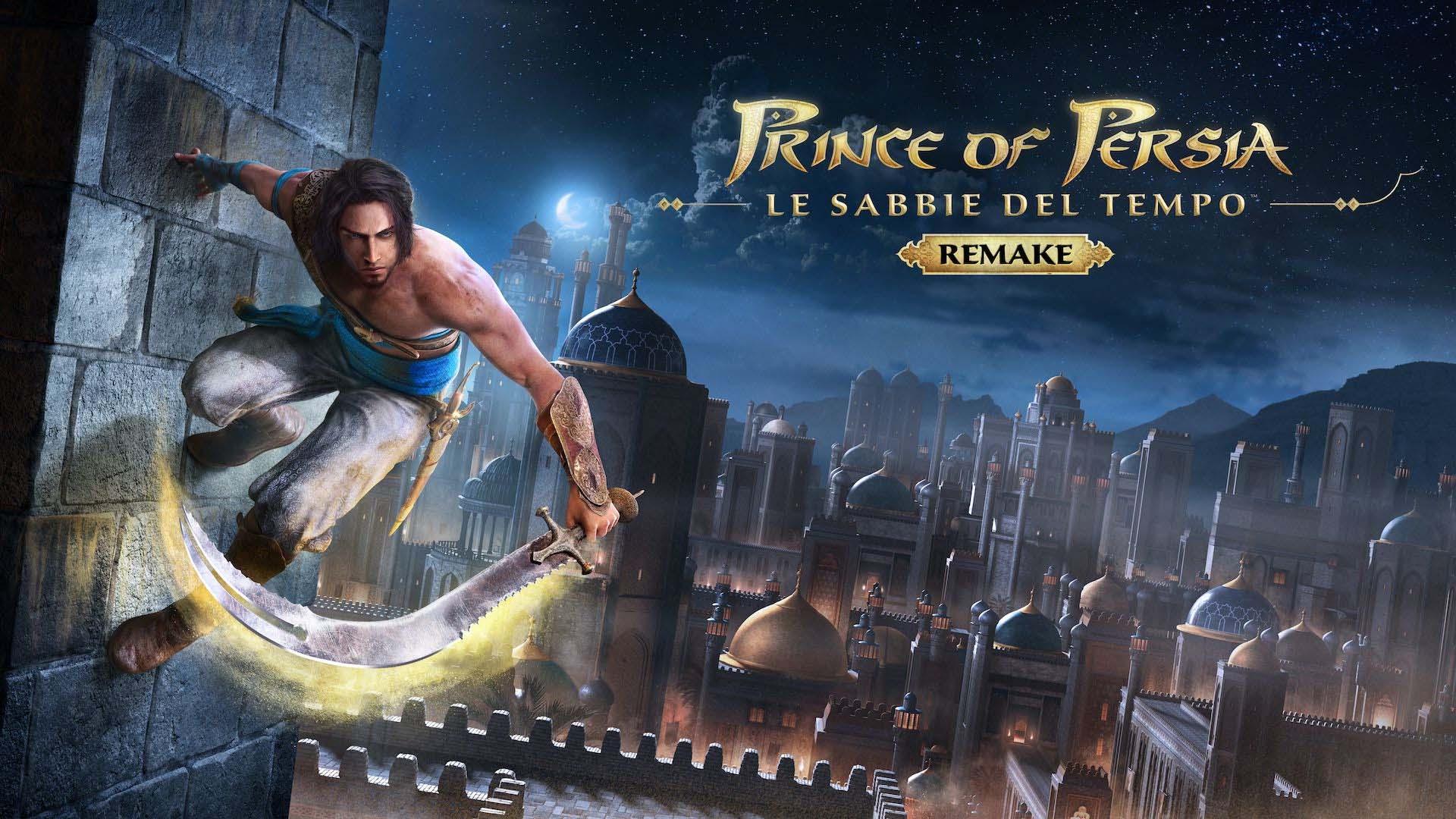 Prince of Persia: Le Sabbie del Tempo Remake locandina