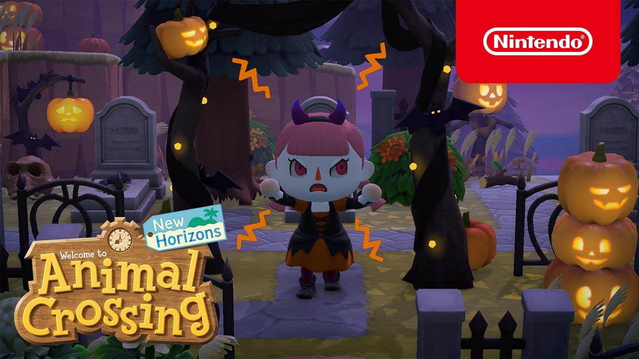 Animal Crossing: New Horizons aggiornamento halloween