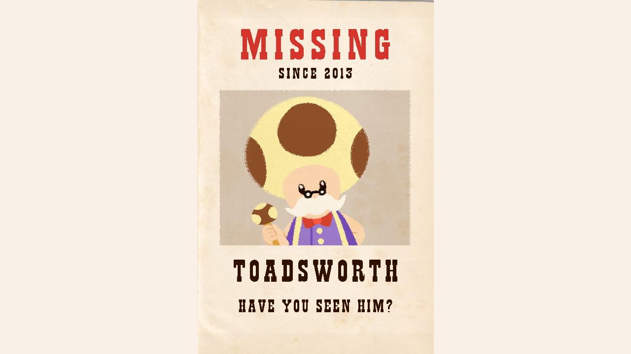 Mastro Toad copertina wanted