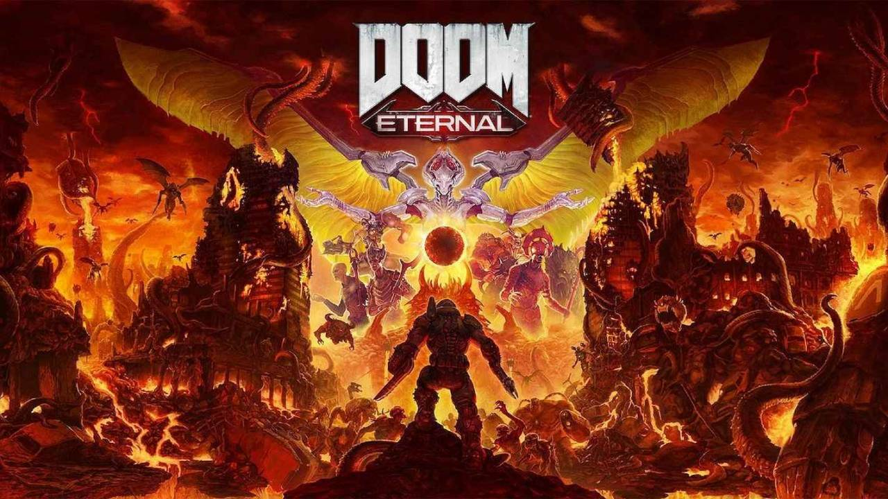 DOOM Eternal locandina