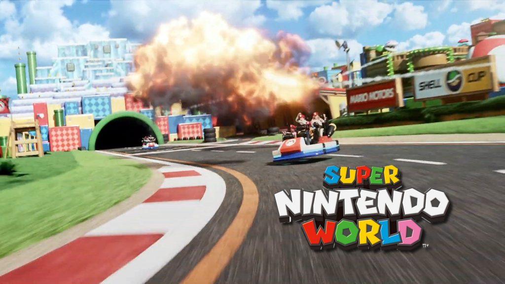 Mario Kart Ride Super Nintendo World