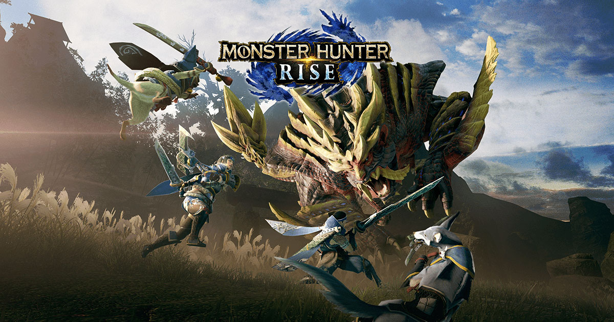 Monster Hunter Rise locandina