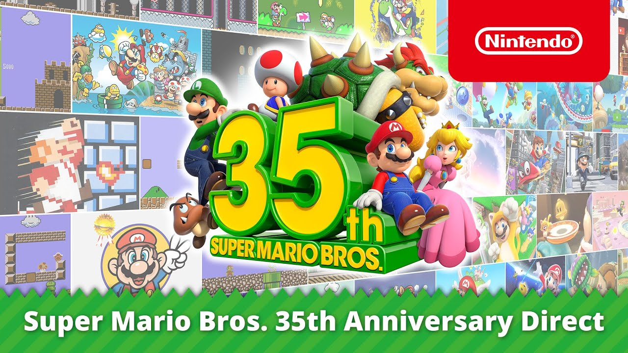 Super Mario Bros. 35° anniversario Cover