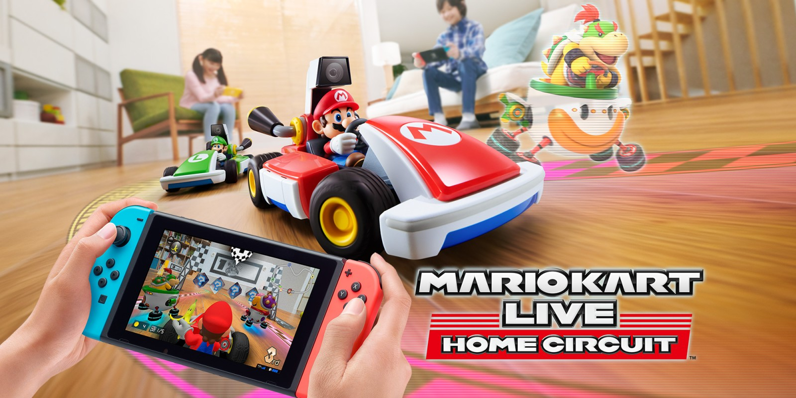 Mario Kart Live: Home Circuit Cover
