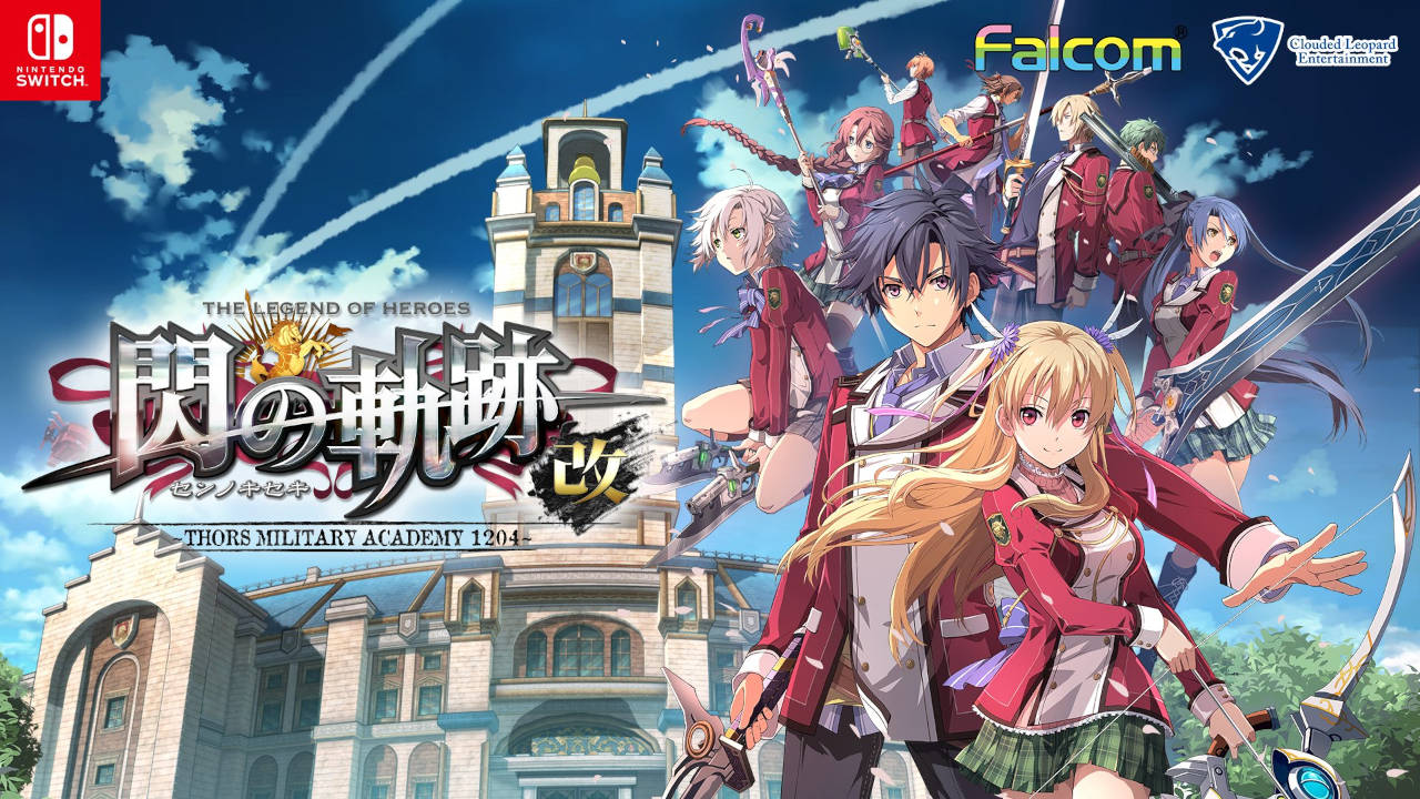 Trails of Cold Steel Cover