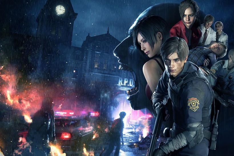 Resident Evil 2 locandina
