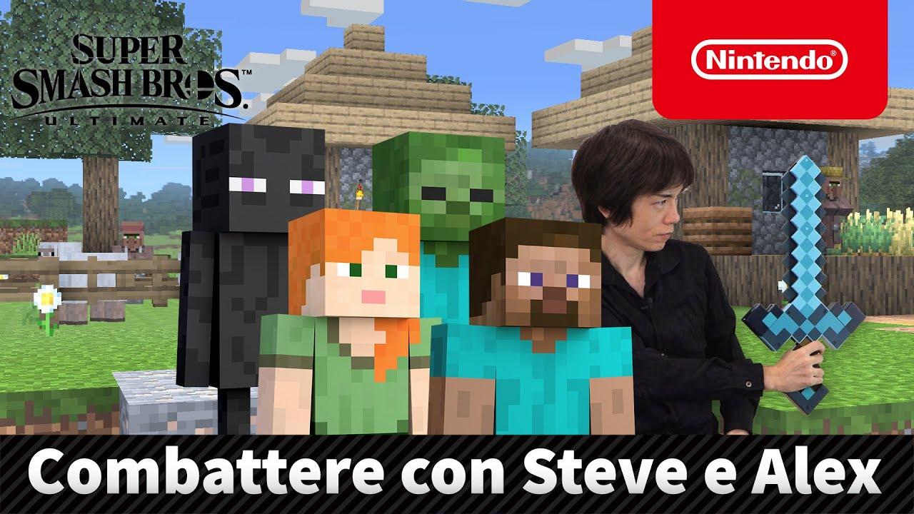 Super Smash Bros. Ultimate Steve Alex