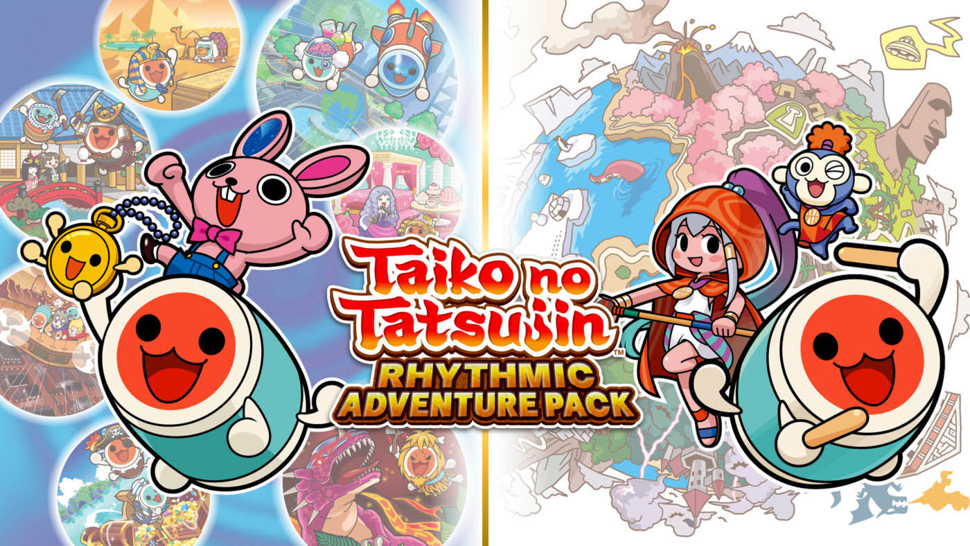 Taiko no Tatsujin: Rhythmic Adventure Pack locandina