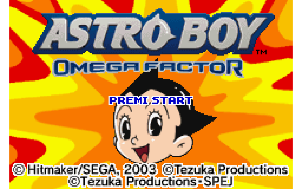 schermata di Astro Boy: Omega Factor