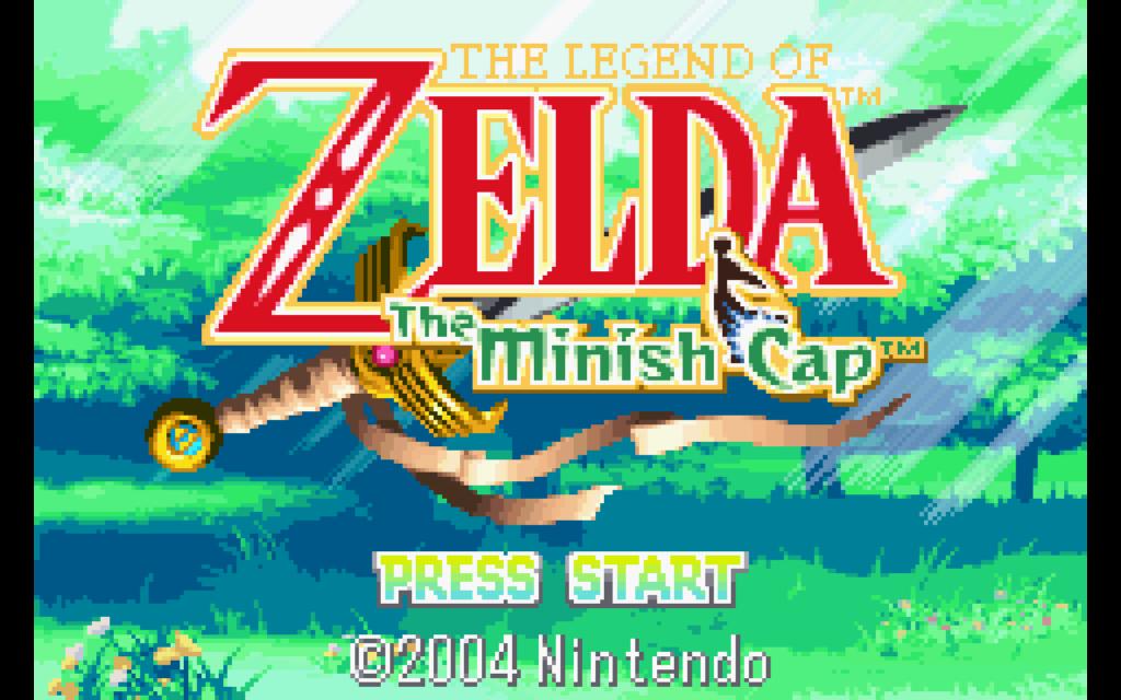 schermata di The Legend of Zelda: the Minish Cap