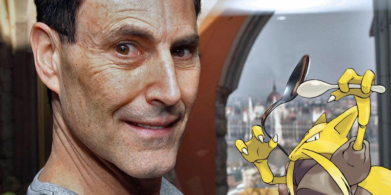 Pokémon Kadabra Uri Geller