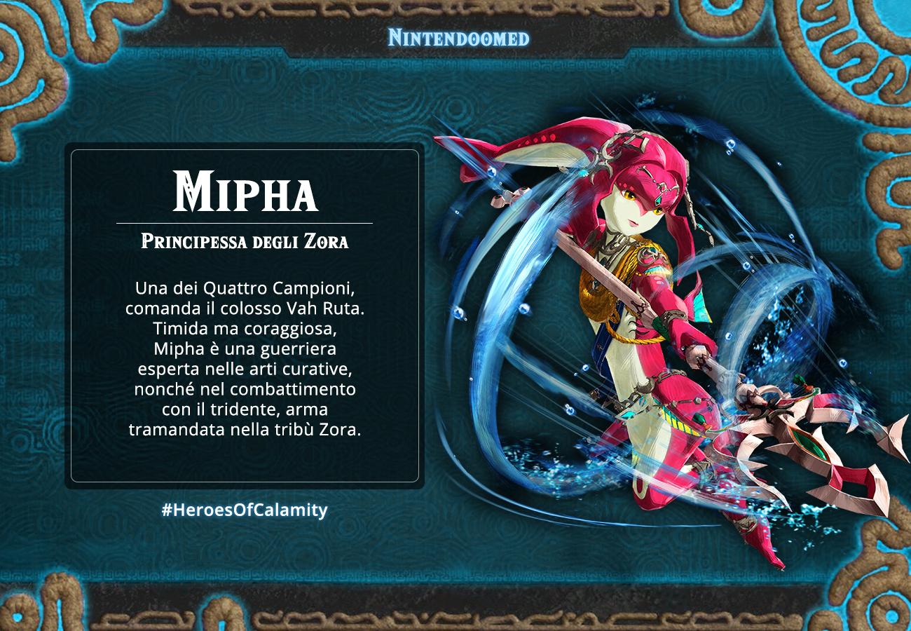 #HeroesOfCalamity Mipha