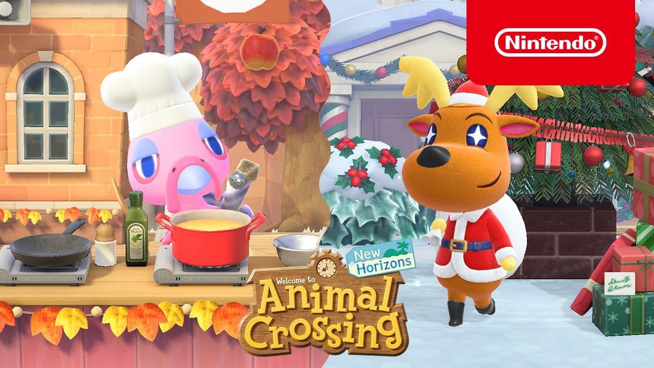 Animal Crossing: New Horizons aggiornamento inverno
