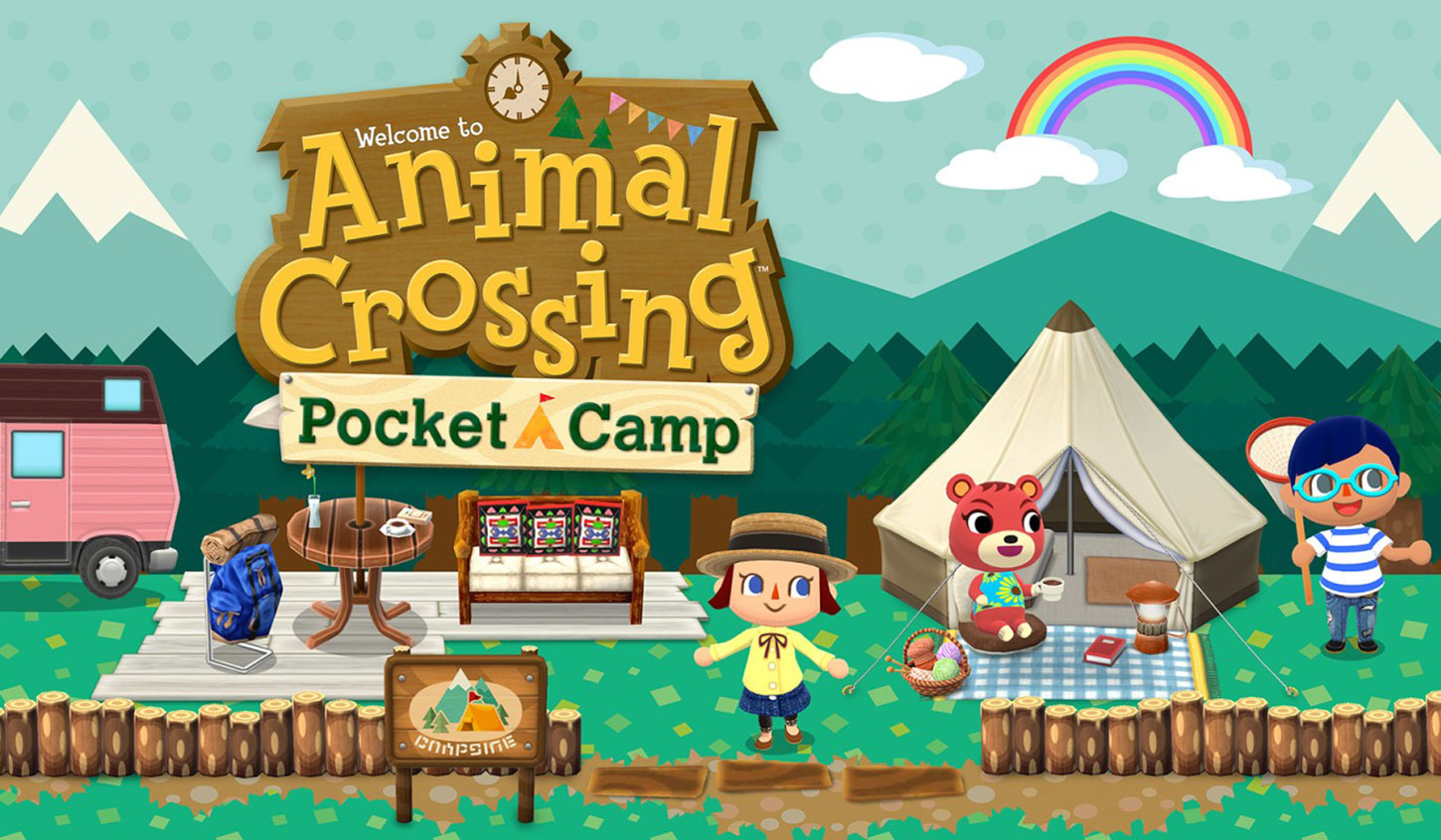 Animal Crossing: Pocket Camp locandina