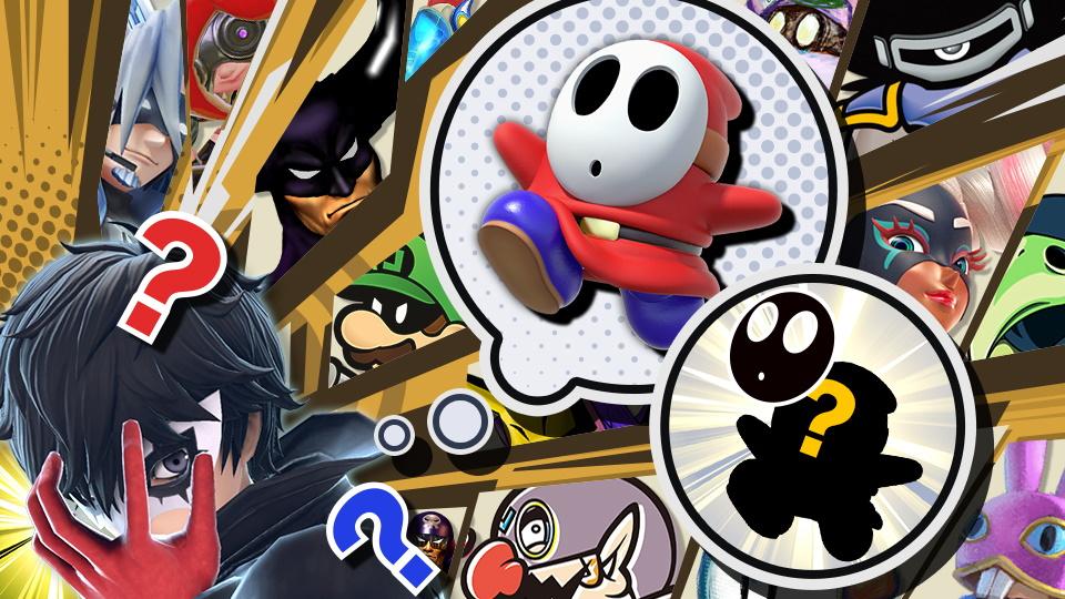 Super Smash Bros. Ultimate evento maschera