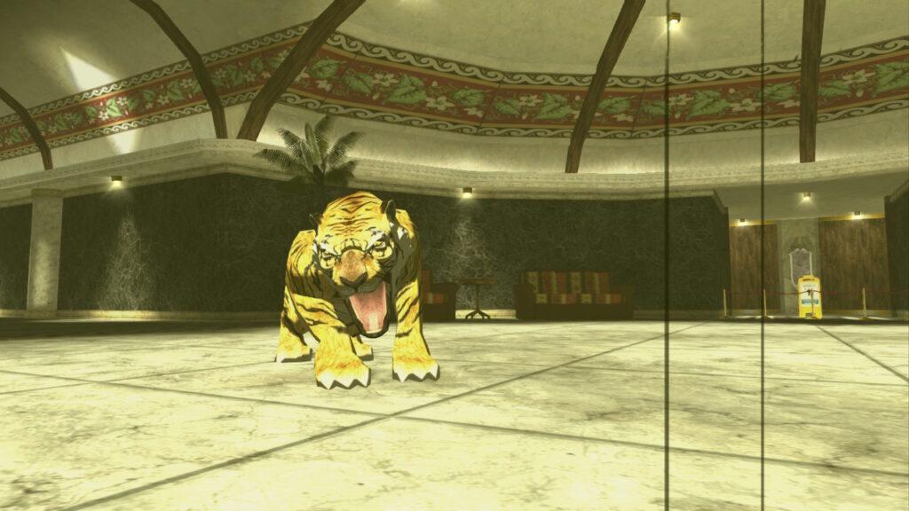 Trasformazione in tigre.