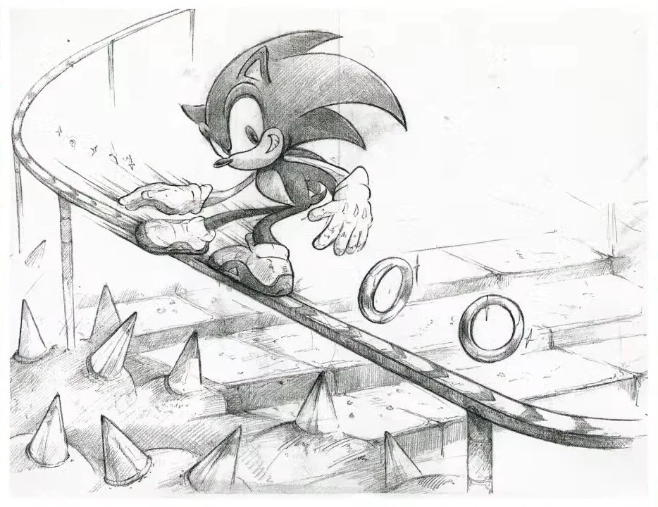 Sonic Adventure concept art