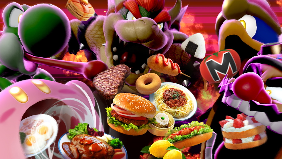 Super Smash Bros. Ultimate evento cibo