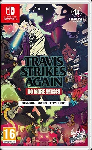 Copertina di No More Heroes: Travis Strikes Again