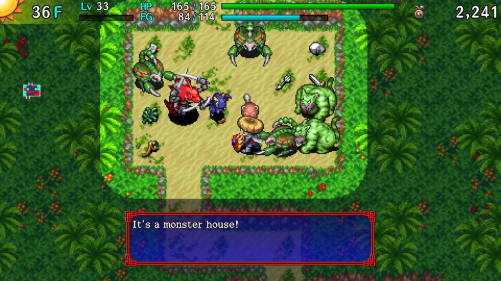 Shiren the Wanderer Monster House