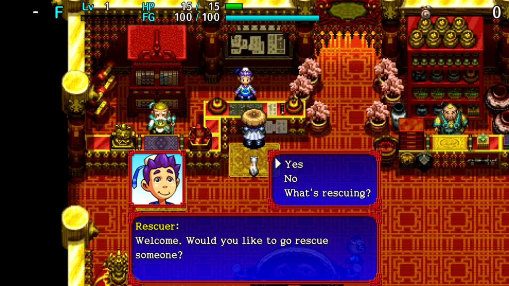 Shiren the Wanderer Rescue
