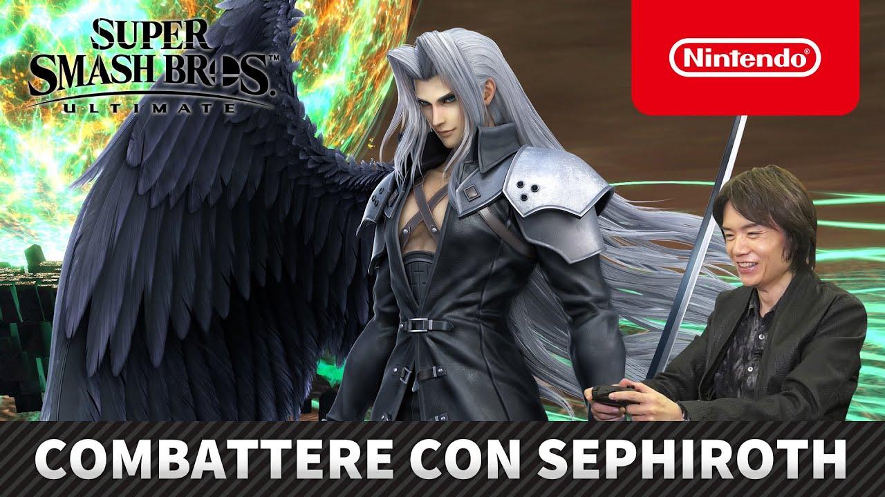 Super Smash Bros. Ultimate Sephiroth Masahiro Sakurai