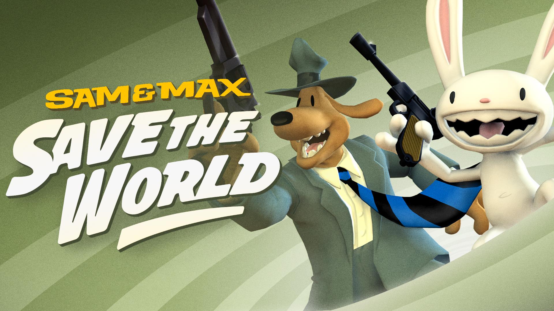 Copertina di Sam & Max Save the World Remastered