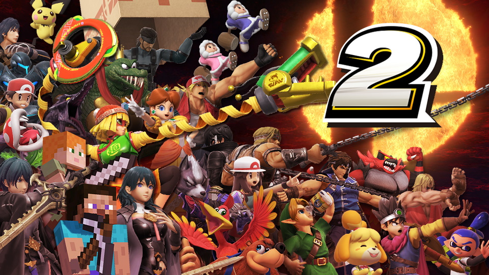 super smash bros. ultimate evento compleanno