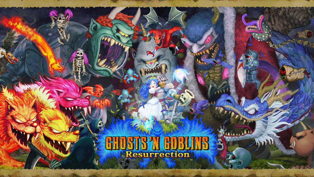 Ghost 'n Goblins Resurrection Cover
