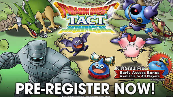 Dragon Quest Tact Pre-register
