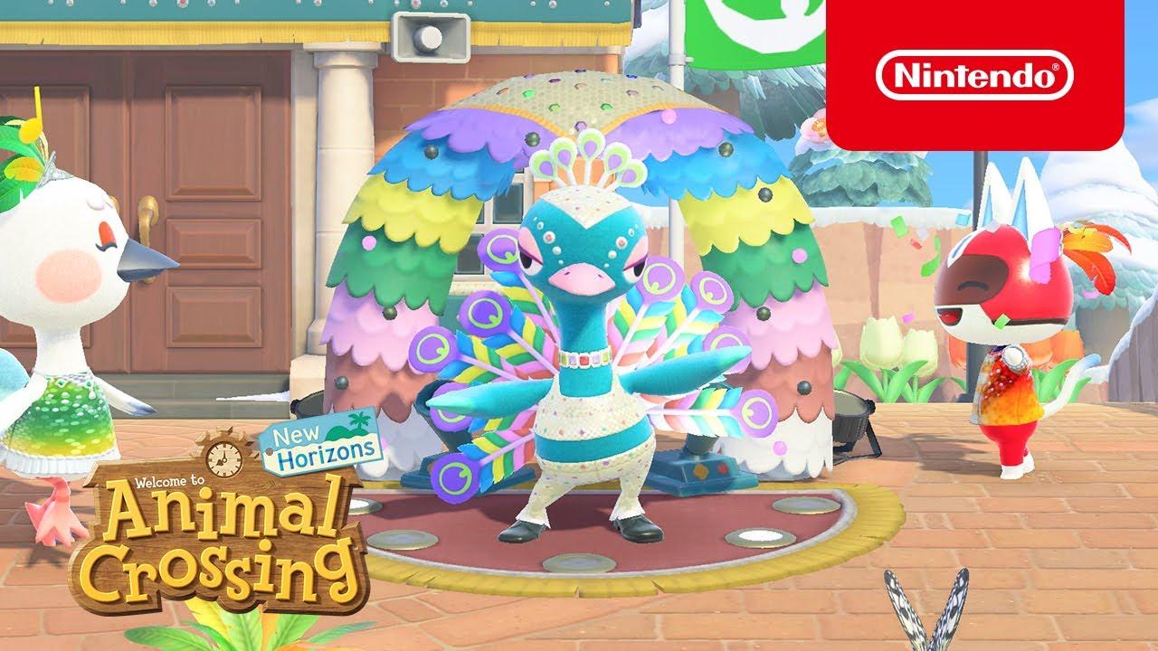 Animal Crossing: New Horizons update carnevale