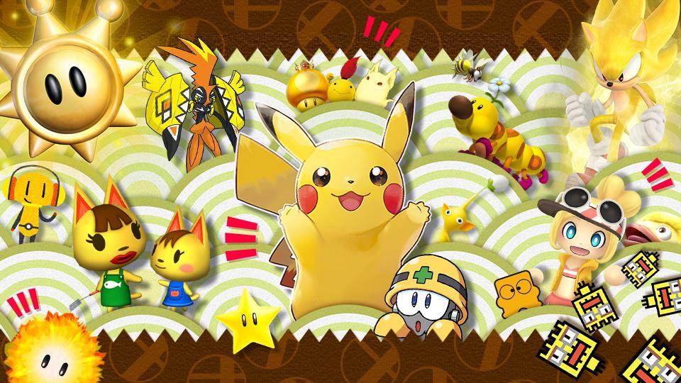 Super Smash Bros. Ultimate evento gialli