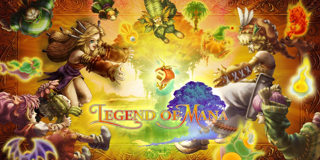 Legend of Mana Cover