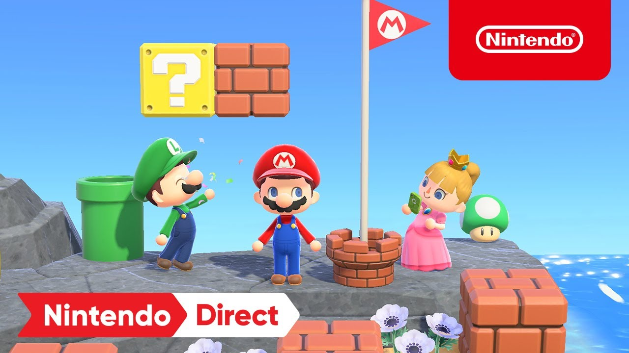 Animal Crossing: New Horizons Mario